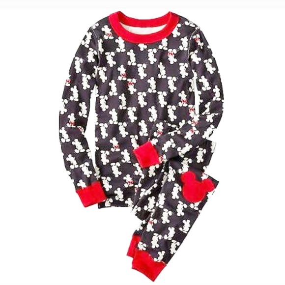 140 10 NWT HANNA ANDERSSON ORGANIC PAJAMAS SOLID RED BOYS GIRLS 110 5